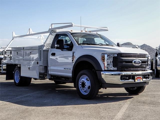 2019 F-450 Regular Cab DRW 4x2,  Scelzi Contractor Body #FK0432 - photo 6