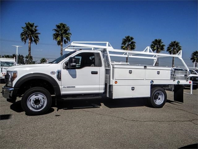 2019 F-450 Regular Cab DRW 4x2,  Scelzi Contractor Body #FK0504 - photo 3