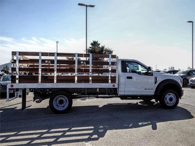2019 F-450 Regular Cab DRW 4x2,  Scelzi Stake Bed #FK0593 - photo 5