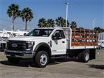 2019 F-450 Regular Cab DRW 4x2,  Scelzi Stake Bed #FK0593 - photo 1