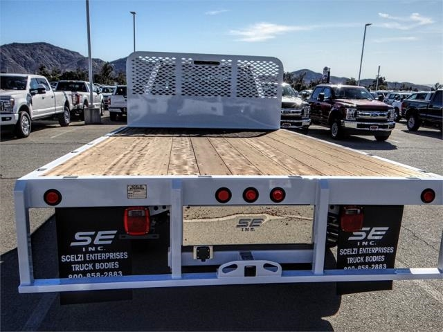 2019 F-450 Crew Cab DRW 4x2,  Scelzi Flatbed #FK0623 - photo 9
