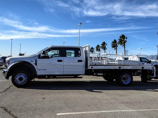2019 F-450 Crew Cab DRW 4x2,  Scelzi Flatbed #FK0623 - photo 3