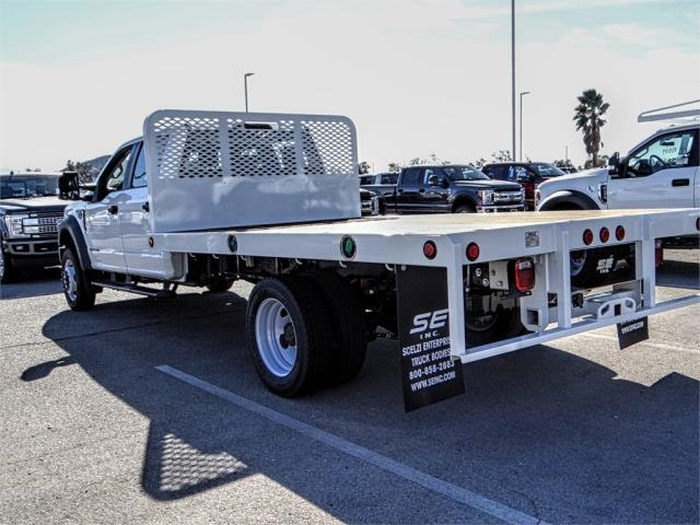 2019 F-450 Crew Cab DRW 4x2,  Scelzi Flatbed #FK0623 - photo 2