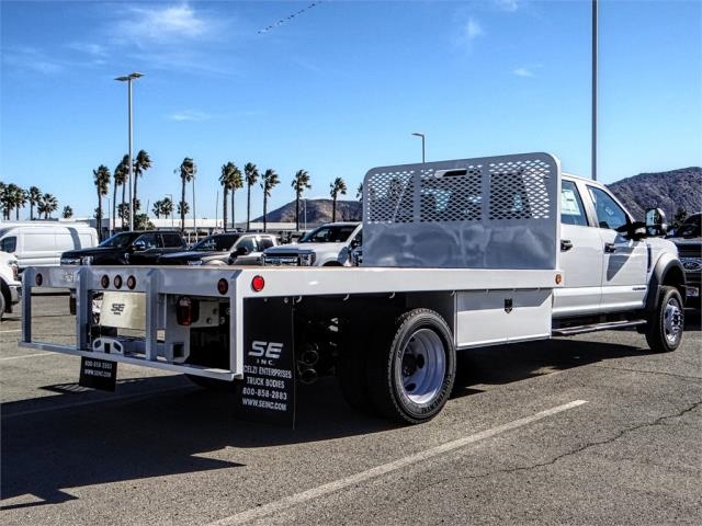 2019 F-450 Crew Cab DRW 4x2,  Scelzi Flatbed #FK0623 - photo 4