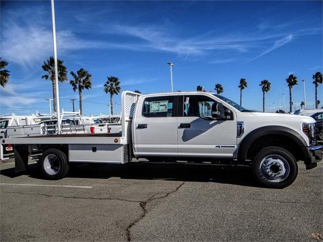 2019 F-450 Crew Cab DRW 4x2,  Scelzi Flatbed #FK0623 - photo 5