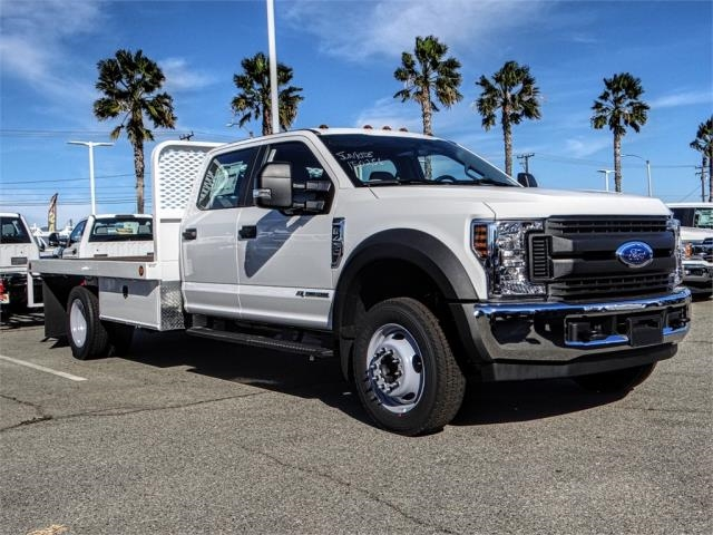 2019 F-450 Crew Cab DRW 4x2,  Scelzi Flatbed #FK0623 - photo 6