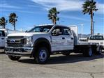 2019 F-450 Crew Cab DRW 4x2,  Scelzi Flatbed #FK0623 - photo 1