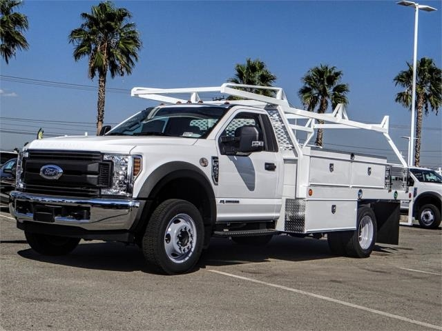 2019 F-450 Regular Cab DRW 4x2,  Scelzi CTFB Contractor Body #FK0635 - photo 1