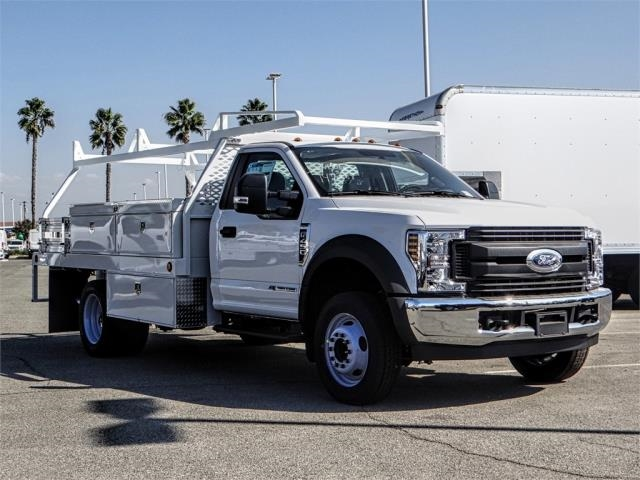 2019 F-450 Regular Cab DRW 4x2,  Scelzi Contractor Body #FK0635 - photo 6