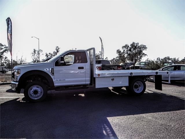 2019 F-450 Regular Cab DRW 4x2,  Scelzi Flatbed #FK0638 - photo 3