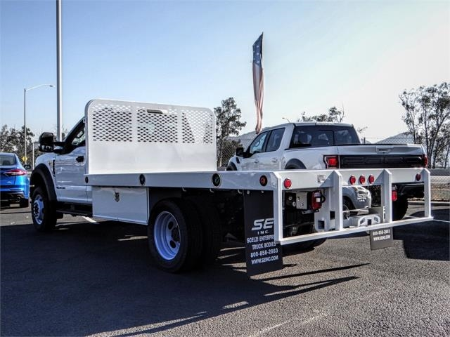 2019 F-450 Regular Cab DRW 4x2,  Scelzi Flatbed #FK0638 - photo 2
