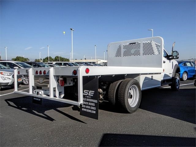 2019 F-450 Regular Cab DRW 4x2,  Scelzi Flatbed #FK0638 - photo 4