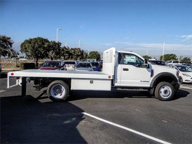 2019 F-450 Regular Cab DRW 4x2,  Scelzi Flatbed #FK0638 - photo 5