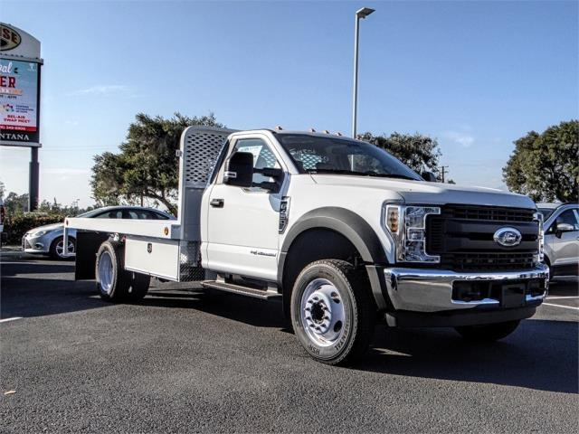 2019 F-450 Regular Cab DRW 4x2,  Scelzi Flatbed #FK0638 - photo 6