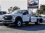 2019 F-450 Regular Cab DRW 4x2,  Scelzi Flatbed #FK0638 - photo 1