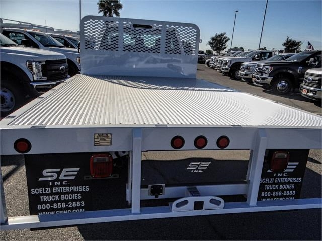 2019 F-450 Regular Cab DRW 4x2,  Scelzi Flatbed #FK0666 - photo 9