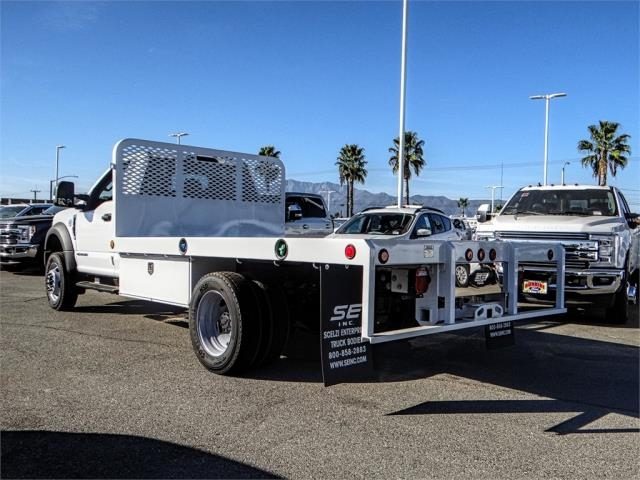 2019 F-450 Regular Cab DRW 4x2,  Scelzi Flatbed #FK0666 - photo 2