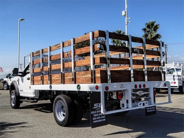 2019 F-450 Regular Cab DRW 4x2,  Scelzi Stake Bed #FK0687 - photo 2