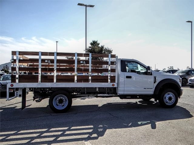 2019 F-450 Regular Cab DRW 4x2,  Scelzi Stake Bed #FK0687 - photo 5