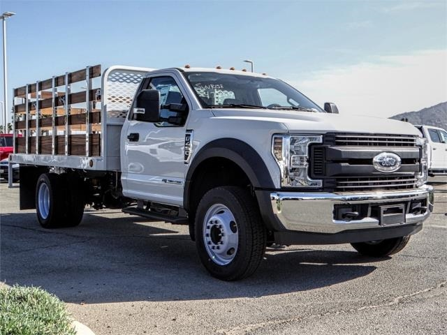 2019 F-450 Regular Cab DRW 4x2,  Scelzi Stake Bed #FK0687 - photo 6