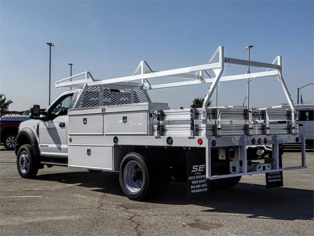 2019 F-450 Regular Cab DRW 4x2,  Scelzi Contractor Body #FK0707 - photo 2