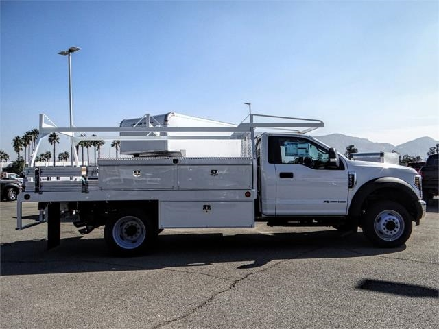 2019 F-450 Regular Cab DRW 4x2,  Scelzi Contractor Body #FK0707 - photo 5