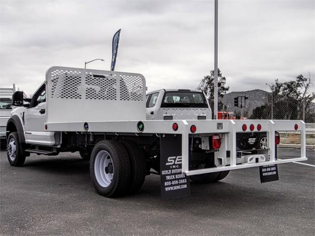 2019 F-450 Regular Cab DRW 4x2,  Scelzi WFB Stake Bed #FK0708 - photo 2
