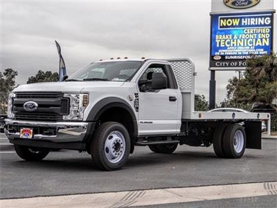 2019 F-450 Regular Cab DRW 4x2,  Scelzi WFB Stake Bed #FK0708 - photo 1
