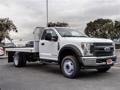 2019 F-450 Regular Cab DRW 4x2,  Scelzi WFB Stake Bed #FK0708 - photo 6