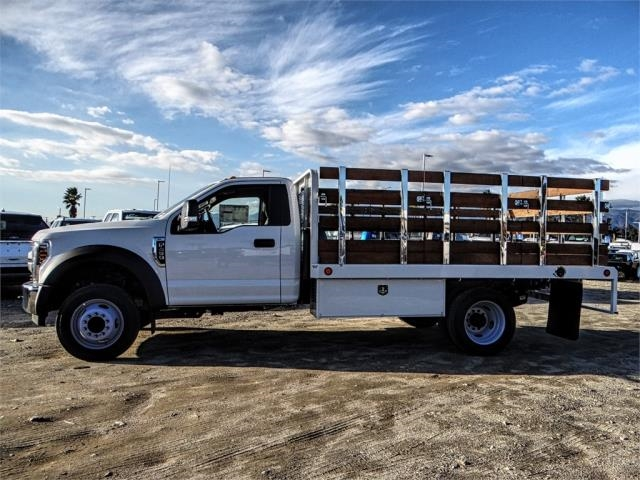 2019 F-450 Regular Cab DRW 4x2,  Scelzi Stake Bed #FK0732DT - photo 3