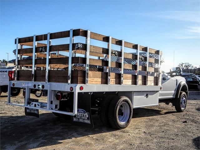 2019 F-450 Regular Cab DRW 4x2,  Scelzi Stake Bed #FK0732DT - photo 4