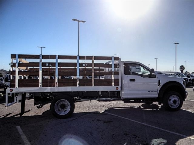 2019 F-550 Regular Cab DRW 4x2,  Scelzi Stake Bed #FK0793 - photo 5