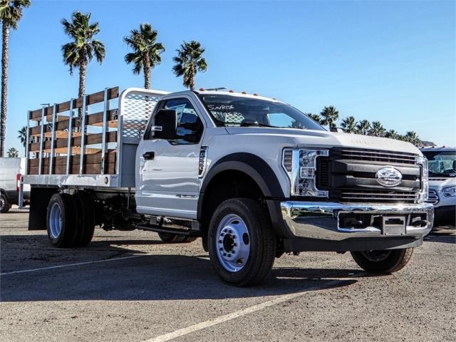 2019 F-550 Regular Cab DRW 4x2,  Scelzi Stake Bed #FK0793 - photo 6