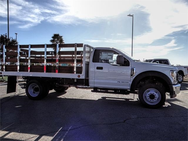2019 F-450 Regular Cab DRW 4x2,  Scelzi Stake Bed #FK0878 - photo 5