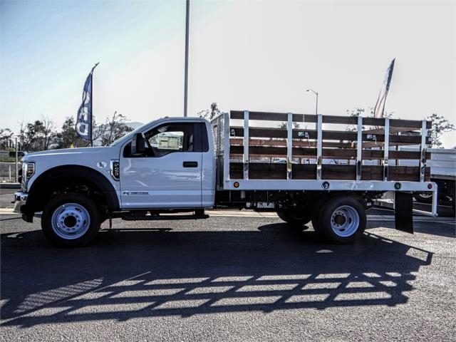 2019 F-450 Regular Cab DRW 4x2,  Scelzi Stake Bed #FK0900 - photo 3