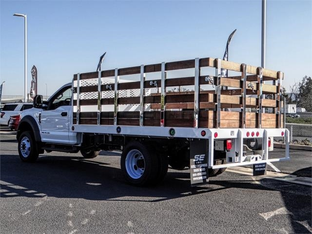 2019 F-450 Regular Cab DRW 4x2,  Scelzi Stake Bed #FK0900 - photo 2