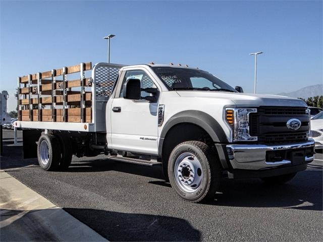 2019 F-450 Regular Cab DRW 4x2,  Scelzi Stake Bed #FK0900 - photo 6