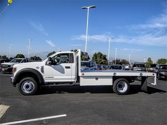 2019 F-450 Regular Cab DRW 4x2,  Scelzi Flatbed #FK0943 - photo 3