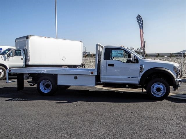 2019 F-450 Regular Cab DRW 4x2,  Scelzi Flatbed #FK0943 - photo 5