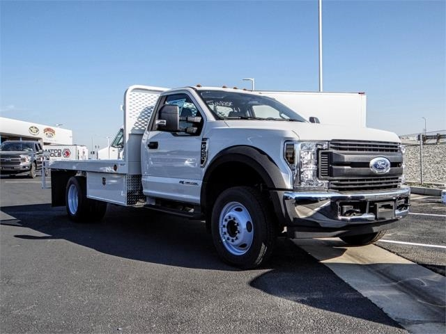 2019 F-450 Regular Cab DRW 4x2,  Scelzi Flatbed #FK0943 - photo 6