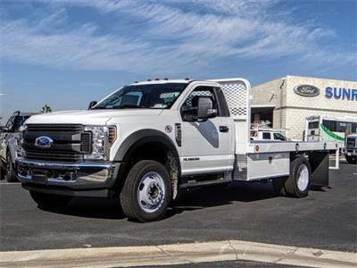 2019 F-450 Regular Cab DRW 4x2,  Scelzi WFB Flatbed #FK0943 - photo 1
