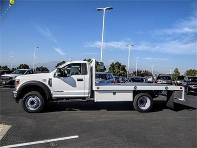 2019 F-450 Regular Cab DRW 4x2,  Scelzi WFB Flatbed #FK0943 - photo 3
