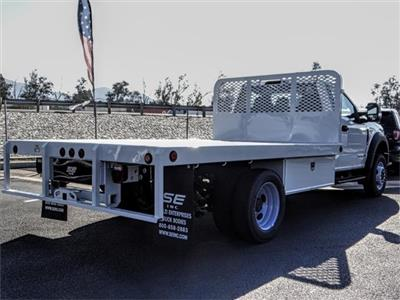 2019 F-450 Regular Cab DRW 4x2,  Scelzi WFB Flatbed #FK0943 - photo 4
