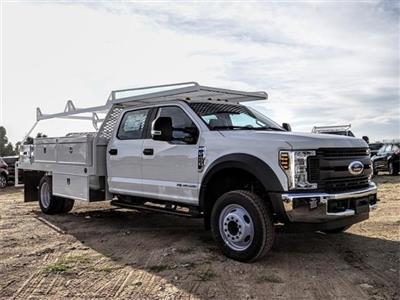2019 F-450 Crew Cab DRW 4x2,  Scelzi CTFB Contractor Body #FK1428 - photo 6