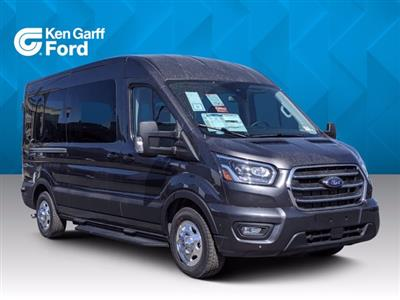 2020 Ford Transit 350 Med Roof AWD, Passenger Wagon #1F00823 - photo 1