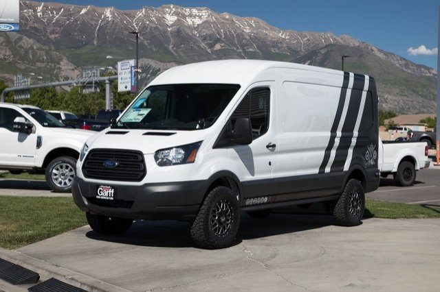 2018 Transit 350 Med Roof 4x2,  Upfitted Cargo Van #1F80416 - photo 4