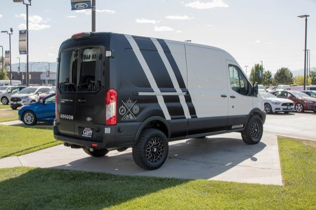 2018 Transit 350 Med Roof 4x2,  Upfitted Cargo Van #1F80416 - photo 6