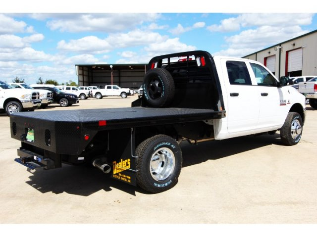 2017 Ram 3500 Crew Cab DRW 4x4,  Platform Body #HG758788 - photo 2