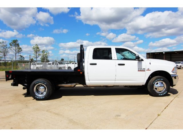 2017 Ram 3500 Crew Cab DRW 4x4, Platform Body #HG758788 - photo 8