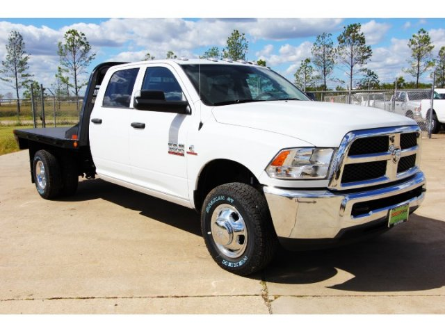 2017 Ram 3500 Crew Cab DRW 4x4,  Platform Body #HG758788 - photo 9